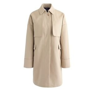 NWOT. J. Crew Cotton trench coat